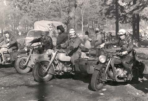 R75 get together in Belgium