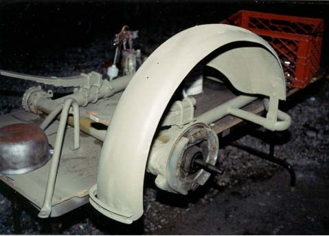 late-war R75 sidecar fender